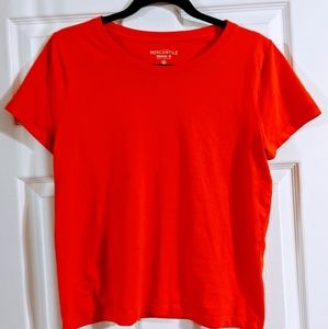 EUC JCrew mercantile broken in tee